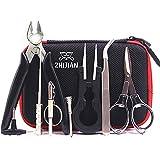 DIY Kit 8 Piezas Kit de Cigarrillo Electrónico Atomizador,pinzas de cerámica, conjunto de bobina, cortador de alambre, Pinzas Antiestáticas