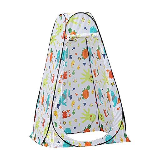 mementoy - Tienda de campaña con tapa para inodoro, ideal para camping, aseos, ducha, intimidad habitaciones/habitaciones, 120 x 120 x 190 cm