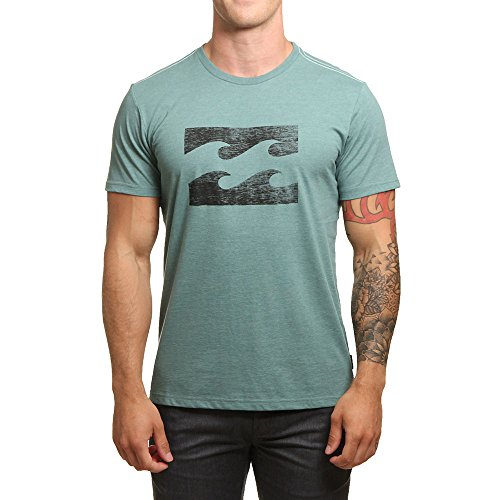 G.S.M. Europe - Billabong Herren Ghosted Tee SS Shirt und Hemd, Algae, L