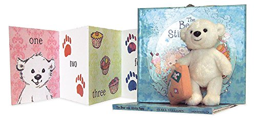 The Bear with Sticky Paws Suitcase Gift Set