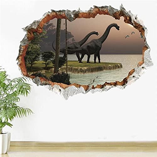 Wall Stickers Murals,3D Diy Decal Poster Door Stickers,Vivid Dinosaur Wall Stickers,For Kids Room Bedroom Home Decoration Animal Mural Art,Wall Stickers For Bedrooms Wall Mural