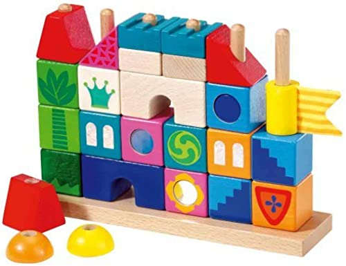 HABA Land of Dragons Puzzle Stacking Game by HABA