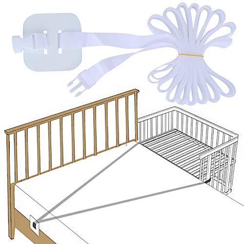 Gurt für Babybett, Beistellbett Befestigung, Gurt für Boxspringbetten, Fester Gurt für Kinderbett, Beistellbett Baby Boxspringbett Gurt