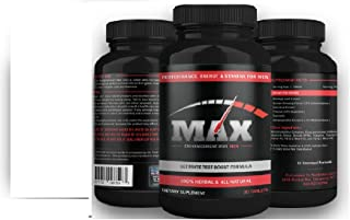 Mens Max Male Enlargement Pills- Male Enhancement Supplement Increases Male Size up to 3 Inches or More- Ultra Powerful Male Enhancer and Mens Performance Enhancer- 30 Day Supply