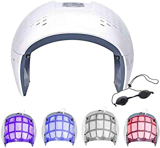 Portable Acne Light Therapy Mask Wrinkle Removal Anti-Aging Skin Facial Care Beauty Treatment Machine for Home Salon Use,2