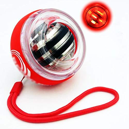 SHIJIANX Powerball Multi-Light AutoStart gyroskopischer Hand- und Armtrainer inklusive Autostart-Mechanik zum Aufziehen