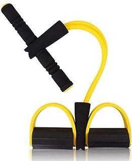 Icome Latex Elastic Resistance Band Pilates Tube Pull Rope Gym Yoga Fitness Equipment