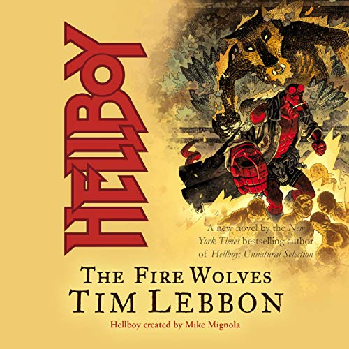 Hellboy: The Fire Wolves cover art