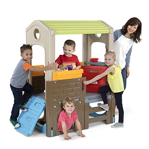 Simplay3 Young Explorers Discovery Playhouse - Indoor Outdoor Clubhouse Playset for Children