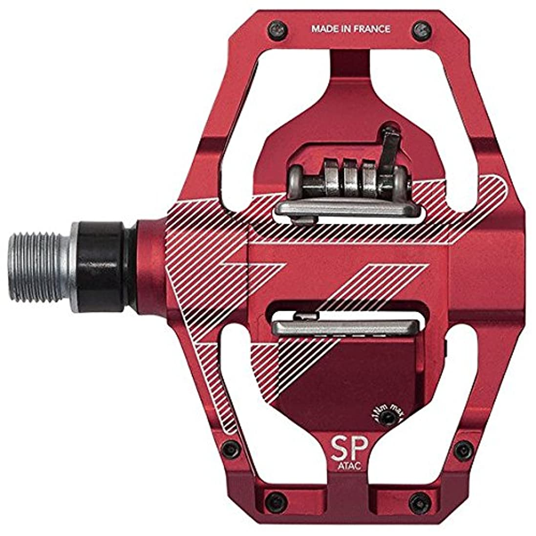 させるビーズ電子TIME(タイム) ビンディングペダル MTB バイク 自転車 SPECIALE 12 RED 重量:202g/片側 T2GV015 0000TU