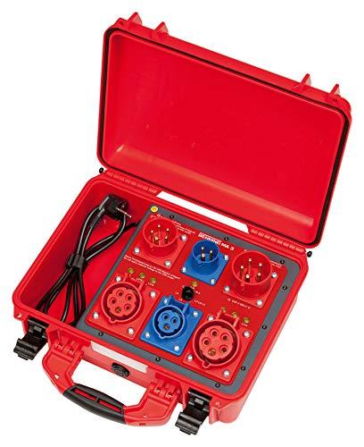 BENNING MA 3, Messadapter zur passiven Prüfung von 1- und 3-phasigen Betriebsmitteln bis 32 A, 044159