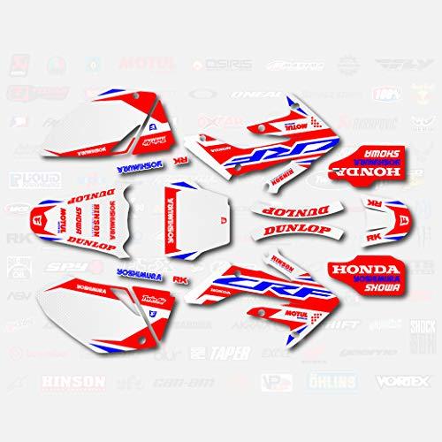 Red & Blue Shift Graphics Kit fits 04-05 Honda Crf250R CRF 250 250R Shroud Decal