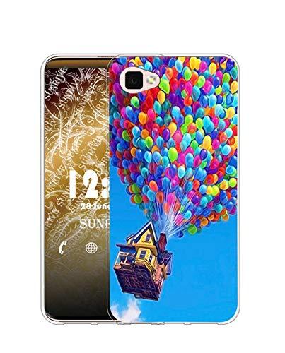 Sunrive Kompatibel mit Cubot X15 Hülle Silikon, Transparent Handyhülle Schutzhülle Etui Hülle (Q Ballon)+Gratis Universal Eingabestift MEHRWEG