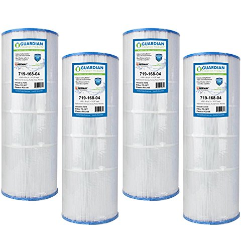 Guardian Filtration - 4 Pack Pool Filter Replacement for Pleatco PCC80, Unicel C-7470, Filbur FC-1976, Pentair, Pac Fab, American Products | Value Savings 4 Pack Cartridge Bundle | Model 719-168-04