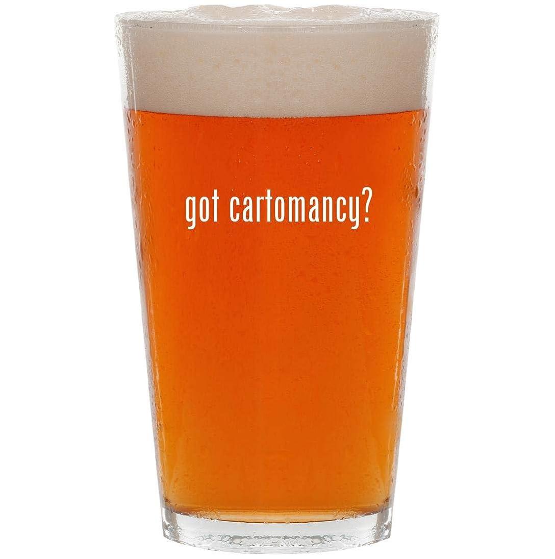 got cartomancy? - 16oz All Purpose Pint Beer Glass calleepmbgn116