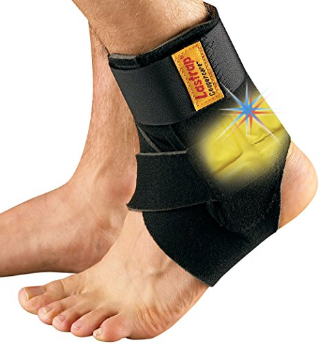 Lastrap Ankle Support with Thermovibe Cool/Warm Pad. Ideal for weak and sprained...