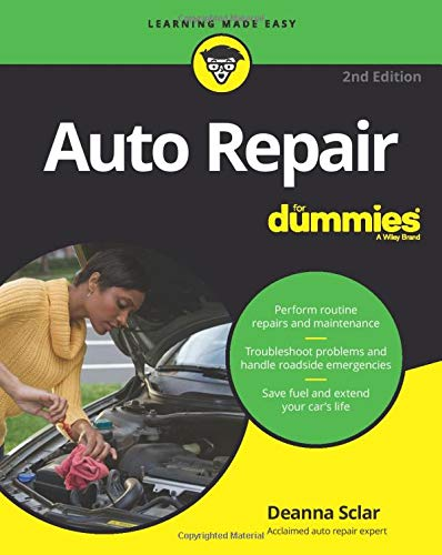 Compare Textbook Prices for Auto Repair For Dummies 2 Edition ISBN 9781119543619 by Sclar, Deanna
