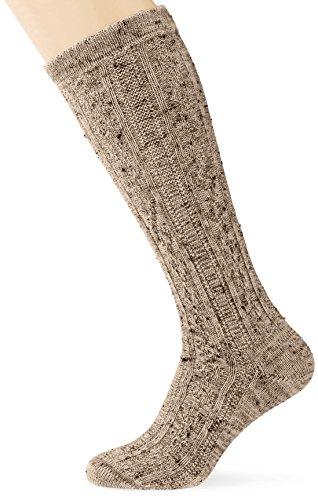Lusana Bamberg Tweed Klederdrachtkousen voor heren, met korte broek, tweeed