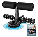 AERLANG Sit Up Bar for Floor, Upgraded Sit Up Assistant Device with massage roller, Portable Sit-Up...
