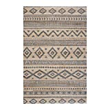 alfombra etnica salon