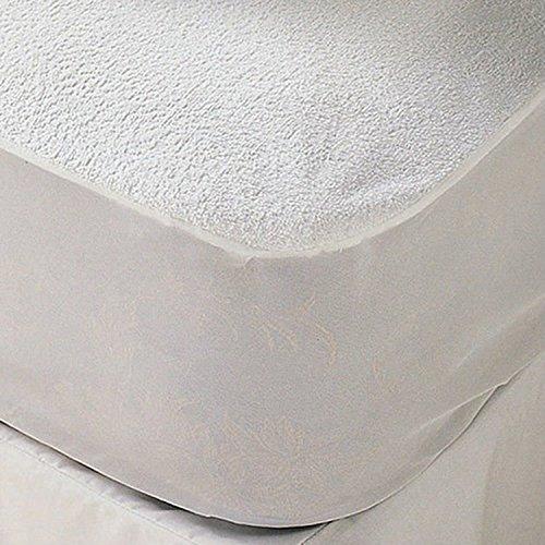 sinnlein® Wasserundurchlässige Matratzenauflage Matratzenschoner in 11 Größen Matratzenschoner mit 100% Baumwolle und Rundumgummiband (90x200cm)