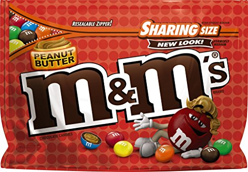 M&Ms Peanut Butter Chocolate Candies - 9.6oz - Sharing Size