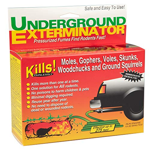 Underground Exterminator Mole and Gopher Killer