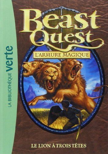 Beast Quest 14 - Le lion à trois têtes de Adam Blade (9 février 2011) Poche