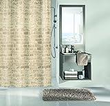Kleine Wolke textilgesellschaft Duschvorhang, Synthetikfasern, Natur, 200x 180cm