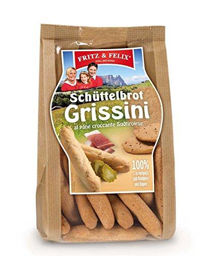 Südtiroler Schüttelbrot Grissini 125 gr. - Fritz & Felix
