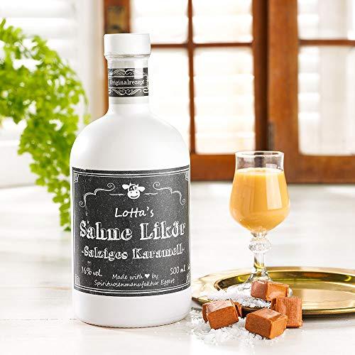 Lottas Sahne-Likör salziges Karamell 0,5 Liter 16% Vol.