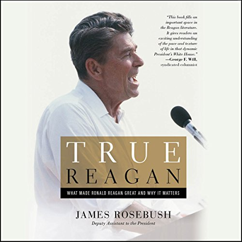 True Reagan audiobook cover art