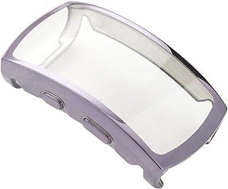 Hemobllo kompatibel för Samsung Gear fit 2 pro klockfodral Anti Fall Watch skärmskydd stötstång fall skydd kompatibel med ...