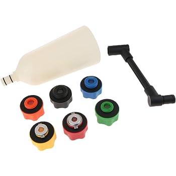 Öleinfüllstutzen Öleinfüll Ölwechselwerkzeug Motoröl Satz Trichter Werkzeug 2L