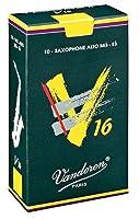 CAムAS SAXOFON ALTO - Vandoren V16 (Caja Verde Oscuro) (Dureza 2 ス) (Caja de 10 Unidades)