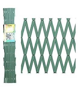 PAPILLON 8091535 Celosia PVC Verde Extensible 2x1 Metros, 2x1m