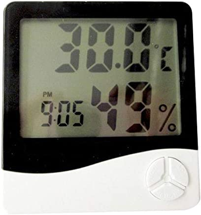 Myzixuan Digital Electronic Temperature and Humidity Meter Temperature and Humidity Gauge Household Digital Display Temperature and