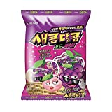 Crown Grape And Peach Flavored Chewy Sweet And Sour Candy 200G (1 Pack) -
