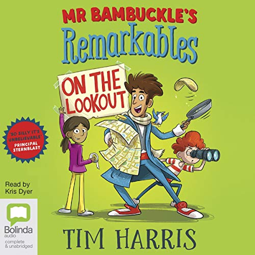 Mr Bambuckle's Remarkables on the Lookout cover art
