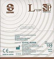 セイリン鍼 LタイプSP 1寸-8 (鍼長30mm×線径0.30mm) セピア (100本入)