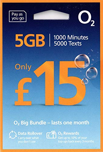 02 4G Ultimate Groß Wert Bundles ANRUFE Triple Sim Karte - Pay As You Go Enthält Nano/Mikro/Standard UNBEGRENZTE Anrufe,SMS & DATEN für IPHONE 4/4S/5/5C/5S/6/6S/6 Ipad 2/3/4/5/Luft/Air2/Air5/GALAXY S2
