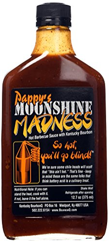 Pappys - Moonshine Madness BBQ Sauce - 375ml