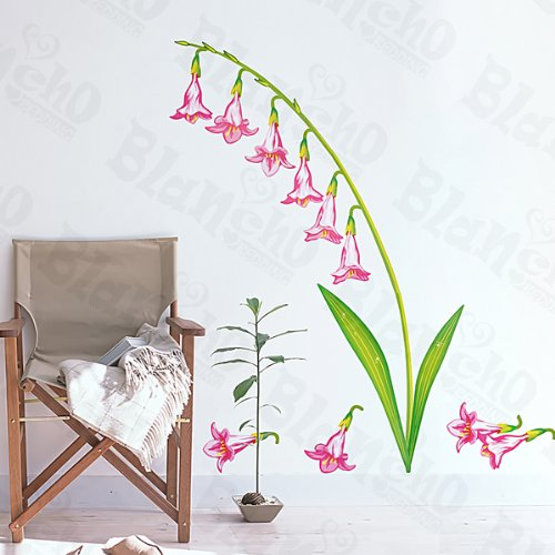 Rose Valley Lily-Wall Stickers Autocollants Appliques décoration