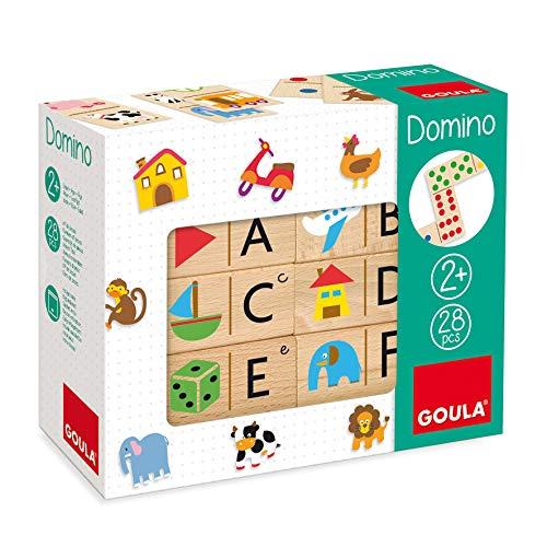 Goula - Dominó abecedario - Juego preescolar educativo a partir de 2 años