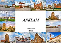 Anklam Impressionen (Tischkalender 2022 DIN A5 quer): Die Stadt Anklam, festgehalten auf zwoelf wunderschoenen Bildern (Monatskalender, 14 Seiten )