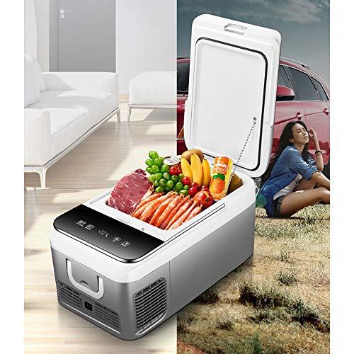 Portable Mini koelkast Compressor Car Huis Dual-Use Frozen Koelkasten Automotive elektrische koelbox Small Freezer -20~10 Graden,Gray,26L
