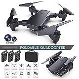 ROCONAT Faltbare Quadcopter RC Drohne mit HD Kamera Kamera Spielzeug Zubehör
