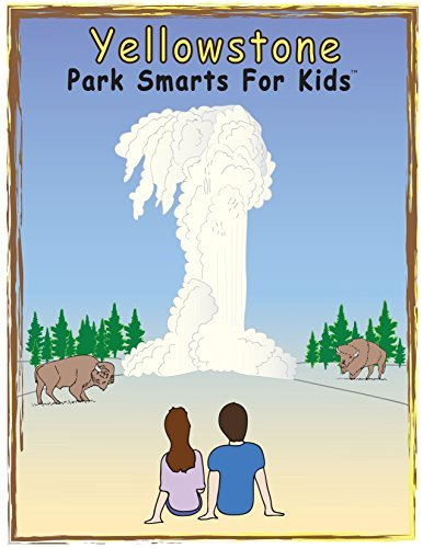Park Smarts For Kids Creative Activity Books - (2 Pack) - Puzzle & Coloring Books - Yellowstone National Park and National Park Service Centennial 2016