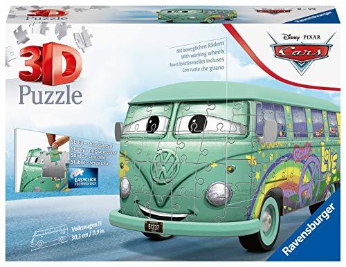 Ravensburger 111855 111855 Disney Cars 3D Puzzel Voertuig, Multikleur