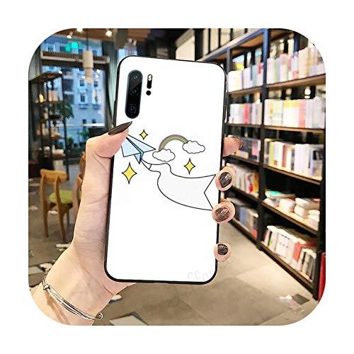 Funda de teléfono para Huawei Honor Mate P 9 10 20 30 40 Pro 10i 7 8 a x Lite nova 5t-a10-huawei mate 30 pro